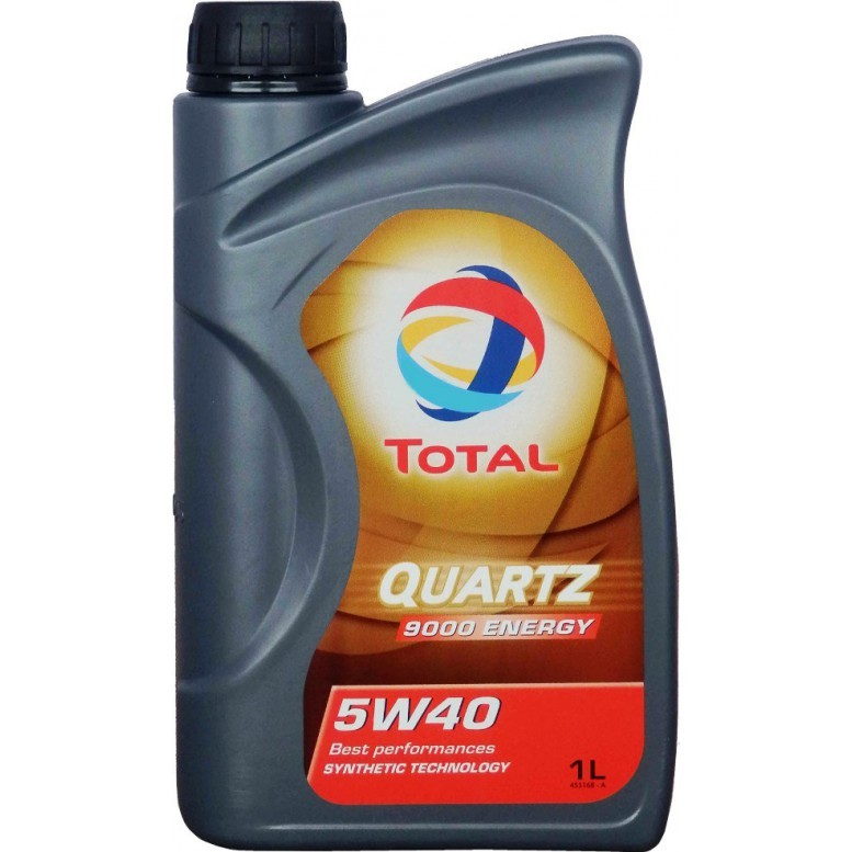 Motoreļļa TOTAL 5W40 QUARTZ 9000 ENERGY 1L