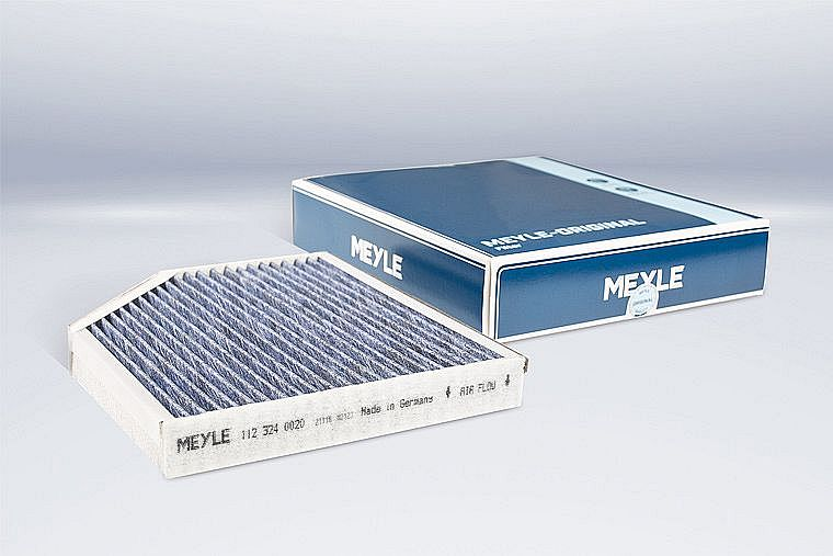 Protection against bacteria and mould – new biofunctional MEYLE ORIGINAL cabin air filter for clean air in the vehicle